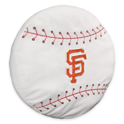 MLB San Francisco Giants 3D Baseball Plush Pillow