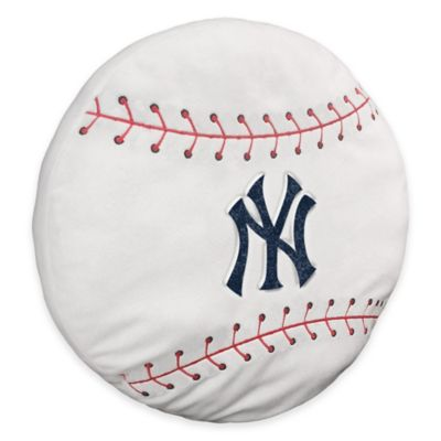 MLB New York Yankees 3D Baseball Plush Pillow