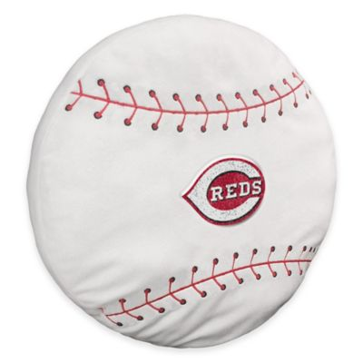 MLB Cincinnati Reds 3D Baseball Plush Pillow