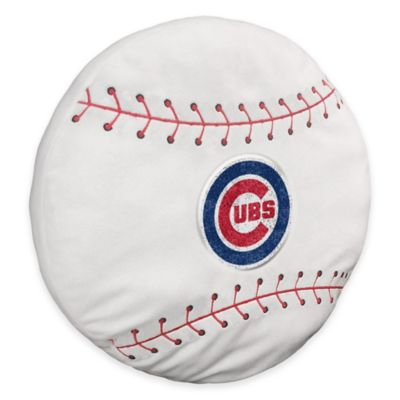 MLB Chicago Cubs 3D Baseball Plush Pillow