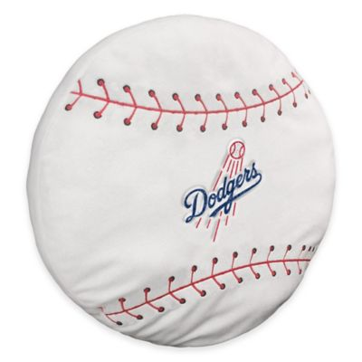MLB Los Angeles Dodgers 3D Baseball Plush Pillow