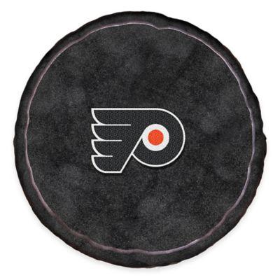 NHL Philadelphia Flyers 3D Hockey Puck Plush Pillow