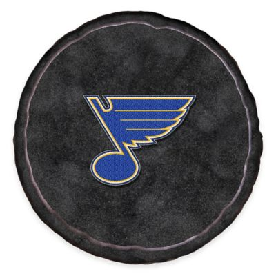NHL St. Louis Blues 3D Hockey Puck Plush Pillow