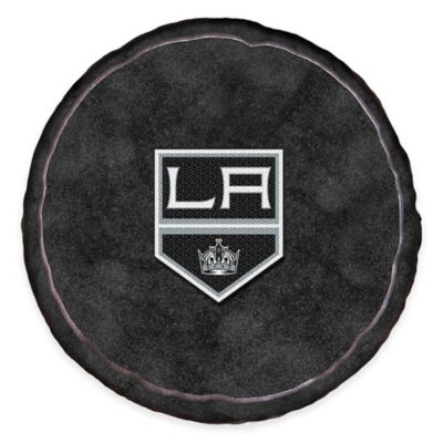 NHL Los Angeles Kings 3D Hockey Puck Plush Pillow