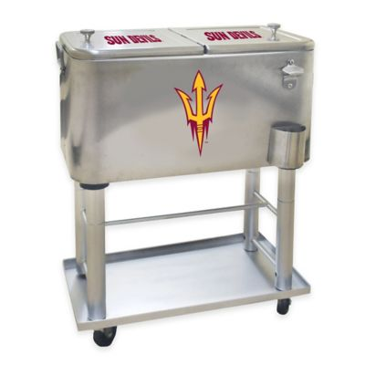 NCAA Arizona State University 60 qt. Stainless Steel Cooler