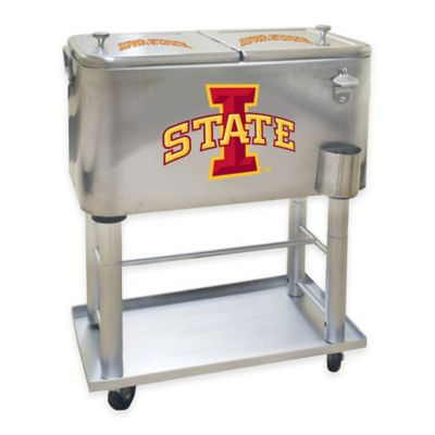 NCAA Iowa State University 60 qt. Stainless Steel Cooler