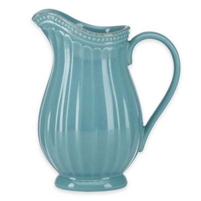 Lenox® French Perle Groove Mini Pitcher in Bluebell