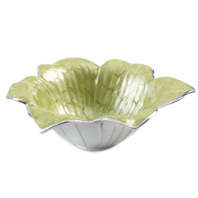 Julia Knight® Flowers Lily 11-Inch Bowl in Kiwi
