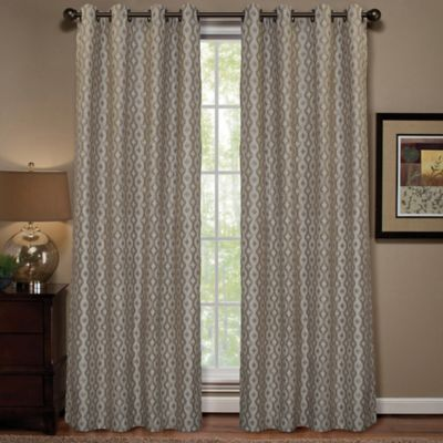 Anello 63-Inch Grommet Top Window Curtain Panel in Navy