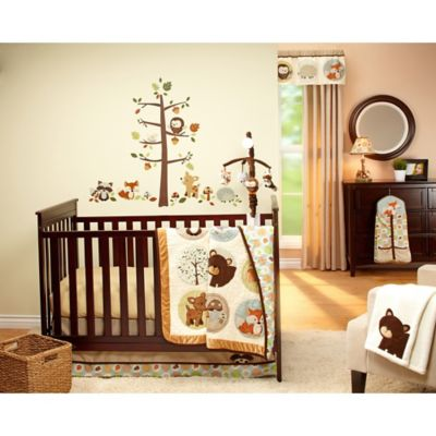 Owl 4-Piece Crib Bedding Set