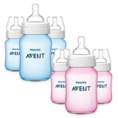 AVENT Classic+ 3-Pack 9 oz. Bottles in Blue