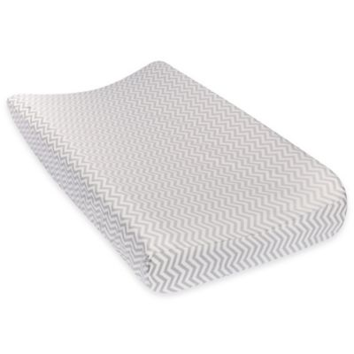 Grey White Pad Cover