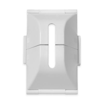 Home Safe Deluxe Outlet Cover in White