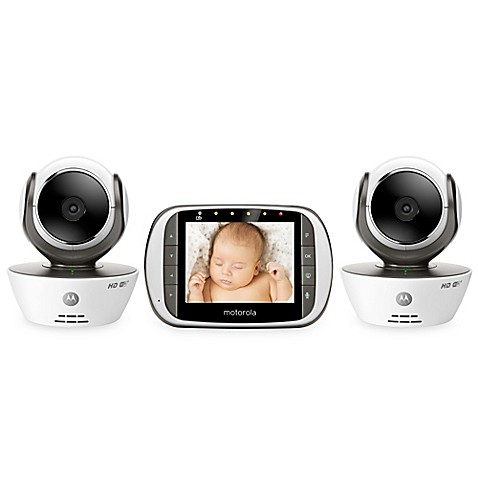 motorola mbp853connect 2 digital video baby monitor with wi fi internet viewing and 2 cameras. Black Bedroom Furniture Sets. Home Design Ideas