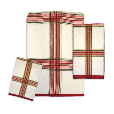 Lenox® Holiday Nouveau Plaid Hand Towel