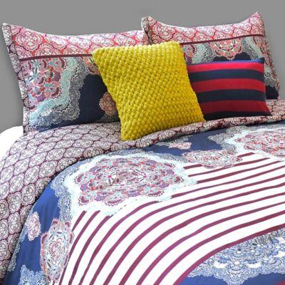 Blink® Pranna Reversible Full/Queen Comforter Set in Multi