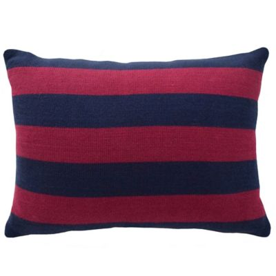 Blink® Pranna Yarn Dye Stripe Oblong Throw Pillow in Multi