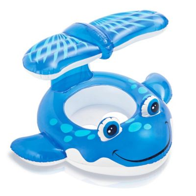 Intex® Whale Baby Float with Sunshade
