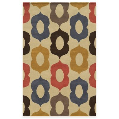Rizzy Home Bradberry Downs Mod 3-Foot x 5-Foot Area Rug in Beige