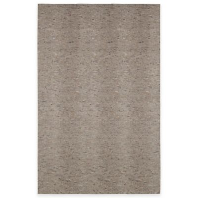 Mohawk Down Under 4-Foot 8-Inch x 6-Foot 8-Inch Reversible Rug Pad in Grey