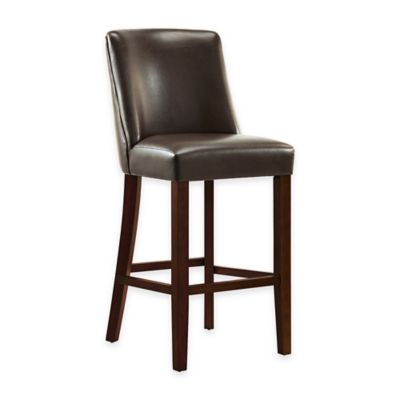 Landon 24-Inch Counter Stool in Chocolate