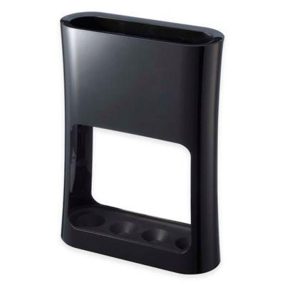 Yamazaki Home Oval Umbrella Stand in Black