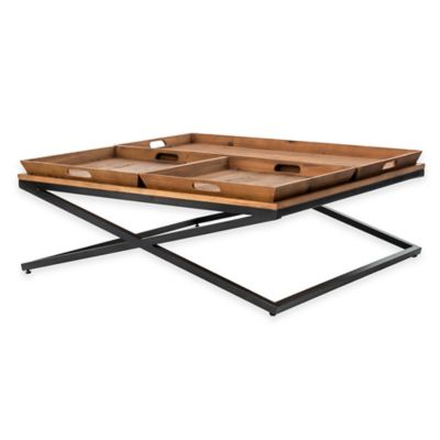 Urban Oasis Rye Square Small Coffee Table
