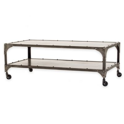 Urban Oasis Quincy Coffee Table in Nickel
