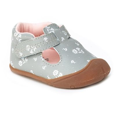 Carter's® Every Step Size 2 Amy Crawling Shoe in Grey