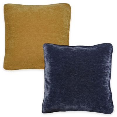 Bernini Square Throw Pillow in Navy