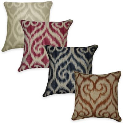 Jakaya Throw Pillow in Guave