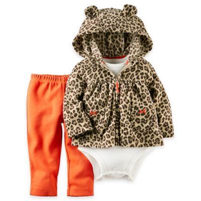 Carter's Bodysuit and Pant Set in Orange