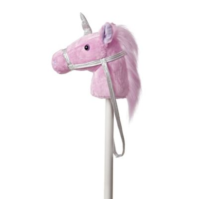 Fantasy Stick Unicorn in Pink