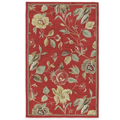 Kaleen Savannah 3-Foot x 5-Foot Rug in Red