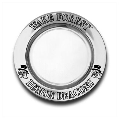 Wilton Armetale® Wake Forest University Small Round Tray