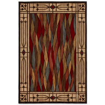Mohawk Home Bethel Glass 8-Foot x 10-Foot Area Rug in Multicolor