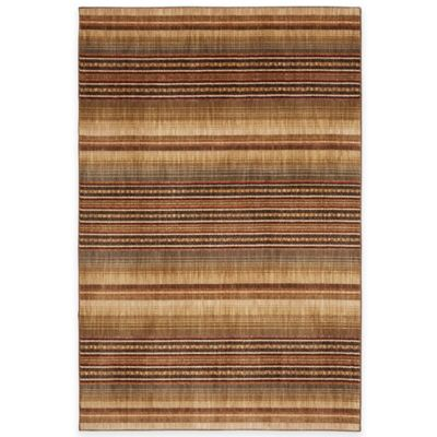 Mohawk Home Knotts Blanket 8-Foot x 10-Foot Area Rug in Latte