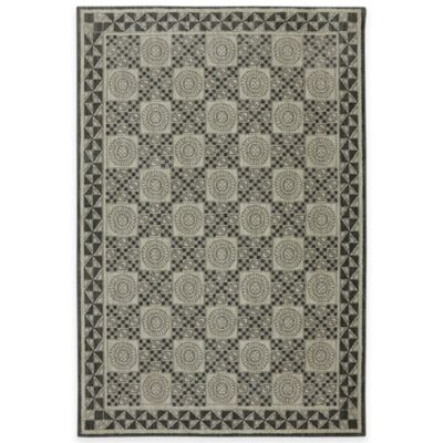 Mohawk Home Rowan 5-Foot 3-Inch x 7-Foot 9-Inch Area Rug in Abyss Blue