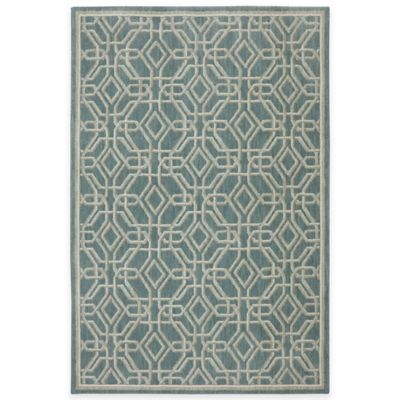 Mohawk Home Abbott 5-Foot 3-Inch x 7-Foot 9-Inch Area Rug in Abyss Blue