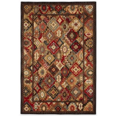 Mohawk Home Endless Wild 5-Foot 3-Inch x 7-Foot 9-Inch Area Rug in Multicolor