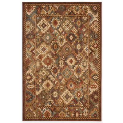 Mohawk Home Endless Wild 8-Foot x 10-Foot Area Rug in Light Camel