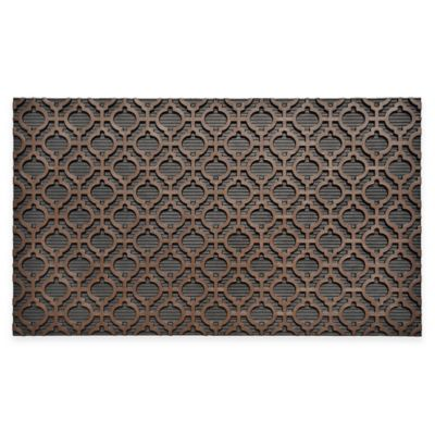 Moroccan Door Mat in Brown