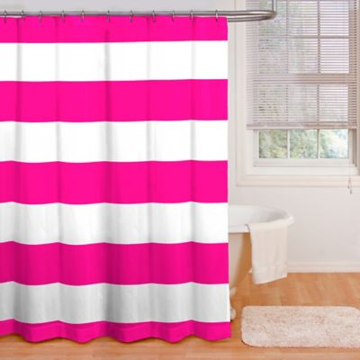 Navy Stripe Curtains