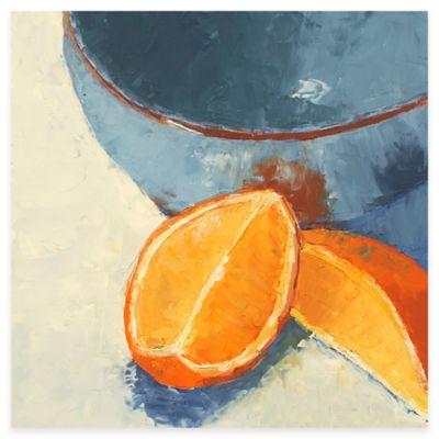 Still Life Fruit Orange Canvas Wall Art