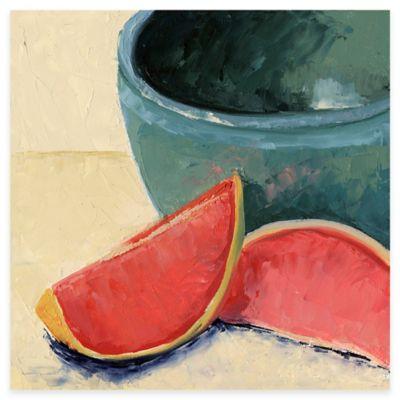 Still Life Fruit Watermelon Canvas Wall Art