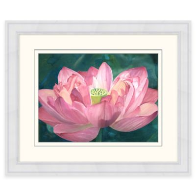 Pink Petals Framed Wall Art