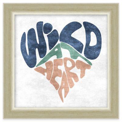 """Wild at Heart"" Framed Wall Art"
