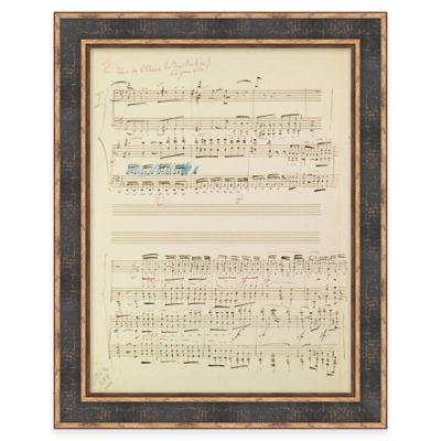 Modern Loft Beethoven Piano Concerto No. 4 Framed Wall Art