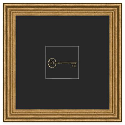 Skeleton Key 1 Framed Wall Art