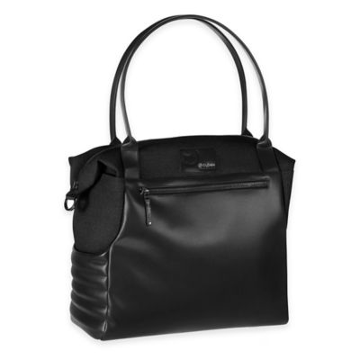 Cybex Priam Changing Bag in Black Beauty Denim